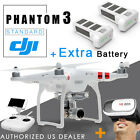 DJI Phantom 3 Standard RC Drone Quadcopter 2.7K 12M HD Camera + EXTRA BATTERY