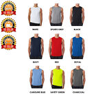 Men's Sleeveless Gym Athletic Workout Wicking Running Performance T-Shirt S-3XL