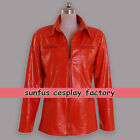 Halloween Once Upon a Time Emma Swan Jacket Leather Costume Cosplay TV