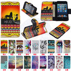 For iPod Touch 5 / 6th Generation Printed Design Flip Wallet Stand Case Cover #E