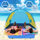 POP UP POTABLE BEACH SHELTER TENT CAMPING PICNIC SUNSHADE FISHING OUTDOOR CANOPY