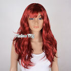 long red curly wig