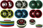 """New PU Competition IWF Bumper Plates Weights Discs 2"""" Olympic Pro Weightlifting"""