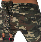 Sexy New Women's Stretchy Camouflage Jeans Trousers Slim Combat Style D 685