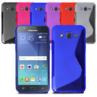 Soft Wave Gel Case Skin Phone Back Cover For Samsung Galaxy Core Prime & Screen