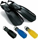 Tusa Premium Quality Max Propulsion Snorkel Dive Strap Fins Flippers  RRP £39.95