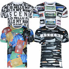 Mens Ascend T Shirt Designer Graphic Picture Print Tee Slim Fit Crew Neck Top