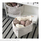 ikea SKUBBARE QUILTED Box Storage basket fit BILLY bookcase natural red or blue