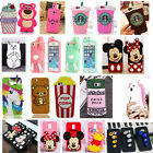 New 3D Cartoon Soft Silicone Phone Back Case Cover Skin for Samsung Galaxy Phone