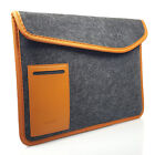 Hera Magnetic Tan & Felt Laptop Sleeve Case Cover For Apple Macbook Pro Retina