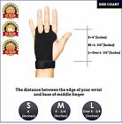 CROSSFIT GRIPS LEATHER PALM PROTECTORS HAND GUARDS WOD GYM GLOVE PULL UP LIFT