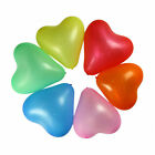 "HEART SHAPE 12"" INCH HELIUM QUALITY BALLOONS MIX HEART SHAPE ALL COLOUR baloon"