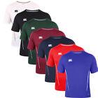 Canterbury Team Dry Performance T Shirt Core CCC Training Gym Tee Rugby E546667