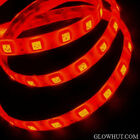 5050 red LED light strip waterproof adhesive backing AC DC power adapter