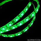 5050 green LED light strip waterproof adhesive backing AC DC power adapter