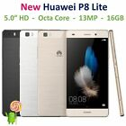HUAWEI P8 Lite Android Smartphone 4G LTE 16GB Dual SIM GSM Factory Unlocked