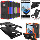 Hybrid Rugged Dual Layer Shockproof Protective Case Cover For Huawei Ascend P9