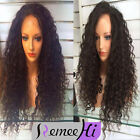 Wholesale queen loose Wavy Brazilian Remy Hair Lace Front Wigs Baby Hair premier