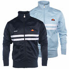 Ellesse Vicenza 2 Mens Retro Fashion Track Top Jacket Blue