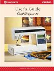 VIKING QUILT DESIGNER II * Choice-Instructions or Service / Parts manuals CD/PDF