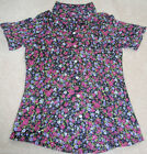 NWT GIRLS EPIC THREADS FLORAL SHIRT SIZE M & L