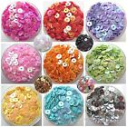 Wow 1000pcs Round Loose Sequins Paillettes Clothes Sewing Wedding DIY Craft