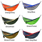 New Portable Outdoor Travel Jungle Camping Parachute Nylon Fabric Hammock 3 Size