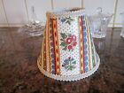 Pierre Deux Avignonet Bordure French Country Toile Lamp Shade Fleur Chandelier