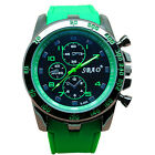 Men Fashion Stainless Steel Luxury Sport Watch Analog Quartz Modern Wrist Watch