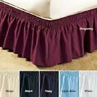 "Madison's Ruffle Wrap Around Skirt Bed 18"" Drop Stretch Easy Fit FREE SHIPPING! image"
