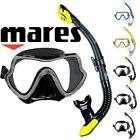 NEW Pro Quality Mares Snorkel Set - Premium SILICONE Mask & Luxury Dry Snorkel
