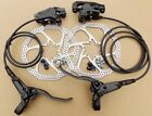 2017 REDNECK SPORTS  MTB HYDRAULIC DISC BRAKES  !!! BLACK, 160mm ROTORS,