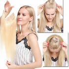 Hidden Invisible Wire Headband Crown Extensions Flip In 100% Human Hair 120g