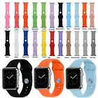 3pcs Sport Silicone Watch Band Strap For Apple Watch iWatch 38mm/42mm 21 Colors