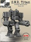 S.W.R ~Titan~ 1/35 Scale resin model kit  (Schwerer Wachrobotor) Front '46 SciFi