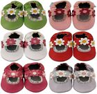 MINIFEET SOFT LEATHER BABY SHOES 0-6,6-12,12-18 & 18-24 MTHS GIRL SANDALS
