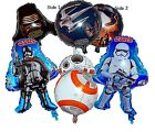 Star Wars Awakens Foil Balloon Clone Tooper BB-8 Kylo Ren Party Decorations $2.5 AUD