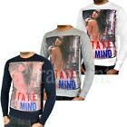 Soulstar LA State Of Mind Bikini Girl Print Sweatshirt  Mens Size