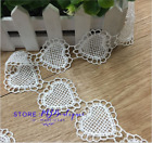 FP116 1yard Heart shape Lace Edge Trimming Ribbon Applique Handicraft Sewing DIY