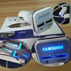 OEM For Samsung S6 Note 2 4 5 LED USB Adaptive Fast Car Charger /LED Micro Cable