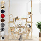 Cat Kitten Dual Scratching Post Tree Sisal Climb Toy Excercise Activity Centre