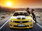 Chevrolet Camero 2012 Muscle Car Wall Print POSTER
