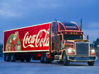 Coca-Cola Christmas Trailer Truck Wall Print POSTER $13.3  on eBay