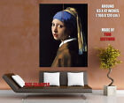 Johannes Vermeer Girl with a Pearl Earring Wall Print POSTER