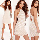 New Sexy Womens Ladies Sleeveless Slim Bodycon Party Evening Cocktail Mini Dress