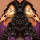 big wavey Brazilian Remy Hair Lace Front/full human hair wig Baby Hair premier