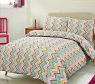Duvet Cover with Pillow Case Quilt Cover Bedding Set Single Double King Luxury