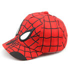 New Fashion Kids Children Spiderman Hiphop Sports Hat Baseball Cap Sunscreen Hat