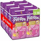 Huggies Pull-Ups Girls Night Time Pants Convenience Pack, Medium - 6 Packs (12