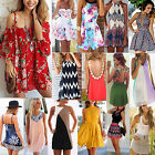 Uk Womens Celeb Summer Shorts Beach Sun Dress Kaftan Mini Playsuit Lady Jumpsuit